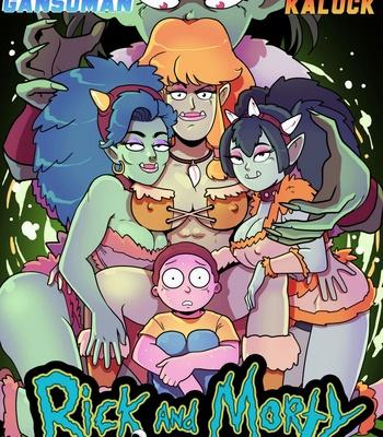 Porn Comics - Rick & Morty – Pleasure Trip 4