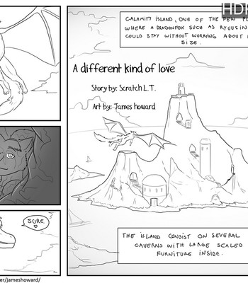 Porn Comics - A Different Kind Of Love