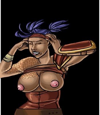 Porn Comics - The Sacred Armor Sex Comic