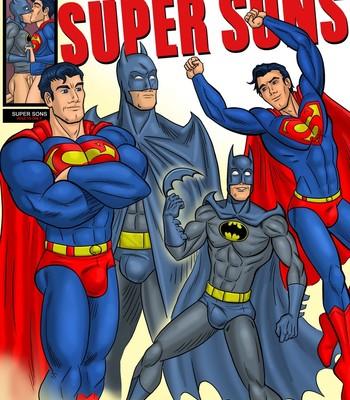 Porn Comics - Super Sons Sex Comic