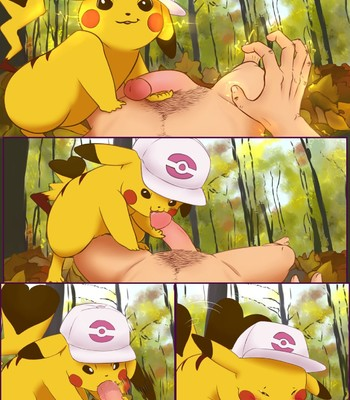 Porn Comics - Pikachu Femdom