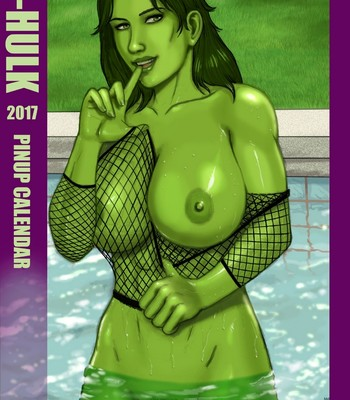 Porn Comics - She-Hulk 2017 Calendar