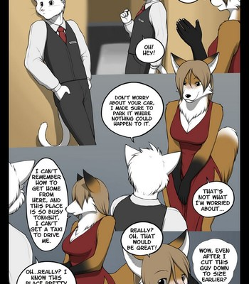 The Valet And The Vixen 1 Sex Comic sex 005