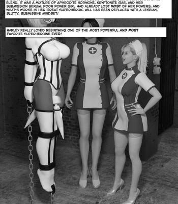 New Arkham For Superheroines 2 – The Great Escape comic porn sex 002
