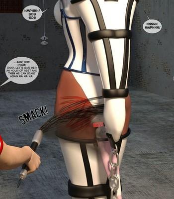 New Arkham For Superheroines 2 – The Great Escape comic porn sex 007