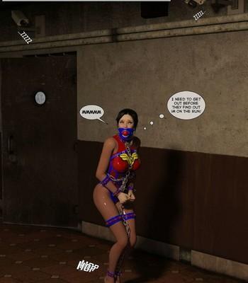 New Arkham For Superheroines 2 – The Great Escape comic porn sex 020