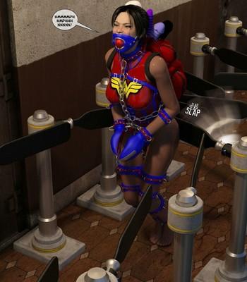 New Arkham For Superheroines 2 – The Great Escape comic porn sex 038