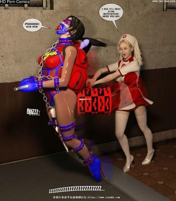 New Arkham For Superheroines 2 – The Great Escape comic porn sex 053
