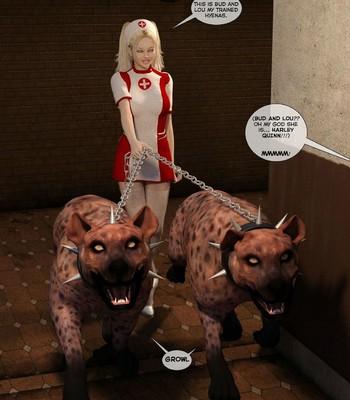 New Arkham For Superheroines 2 – The Great Escape comic porn sex 058