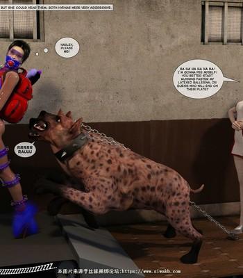 New Arkham For Superheroines 2 – The Great Escape comic porn sex 059