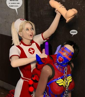 New Arkham For Superheroines 2 – The Great Escape comic porn sex 069