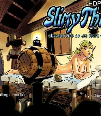 Porn Comics - Slimy Thief Sex Comic