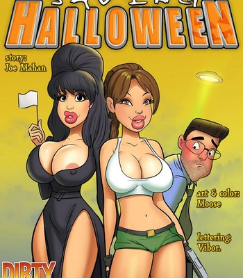 Porn Comics - Saving Halloween
