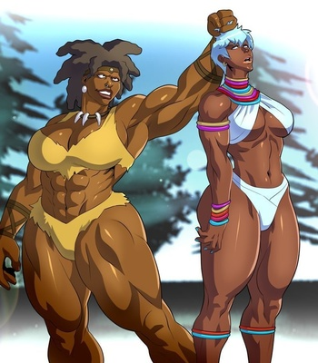 Muscle girl comic porno Muscle Girl Hd Porn Comics