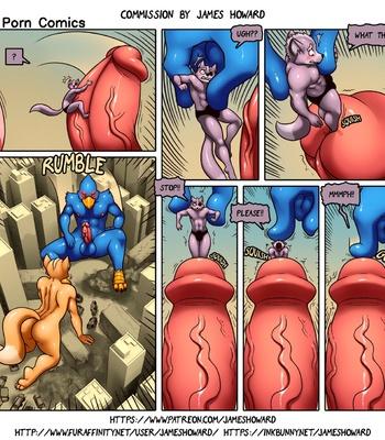Wolf's Misfortune comic porn sex 005