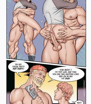 The Plumber comic porn sex 005