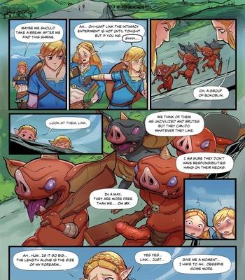 The Legend Of Zelda – Breath Of Bokoblin Cock comic porn sex 002