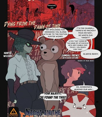 Porn Comics - Night In The Fox Woods