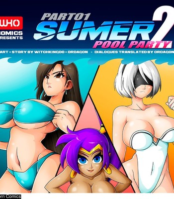 Porn Comics - Sumer Pool Party 2 – Part 1