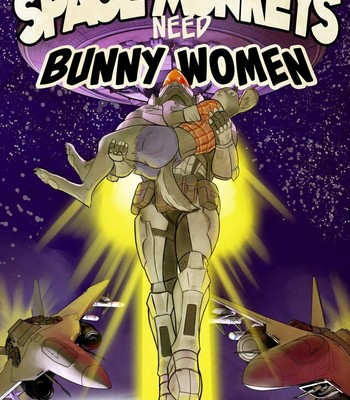Porn Comics - Bald Space Monkeys Need Bunny Woman