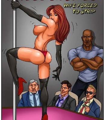 Porn Comics - Recession Blues – Wife Forced To Strip