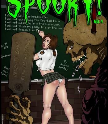 Porn Comics - Spooky 4 Sex Comic
