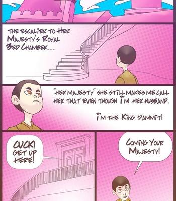 Porn Comics - Her Majesty 1