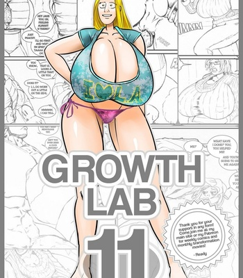 Porn Comics - Growth Lab 11 (Remastered)