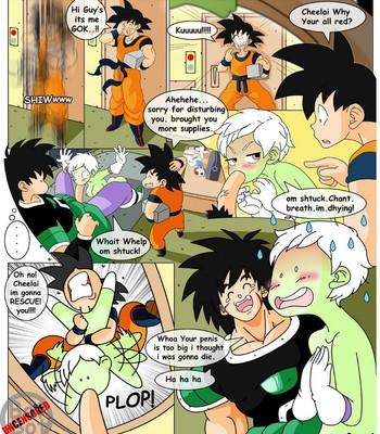 Dragon Ball Yamete – Cheelai's Saga comic porn sex 007