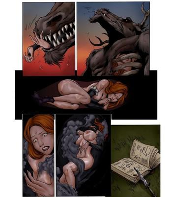 Sorceress Summons Doom comic porn sex 005