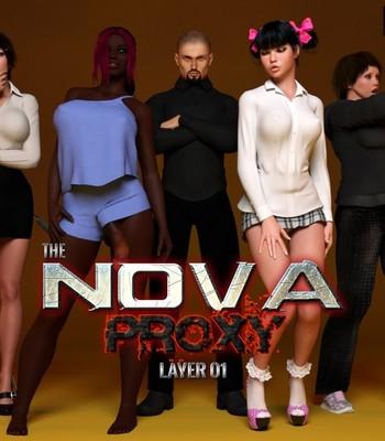 Porn Comics - The Nova Proxy Sex Comic