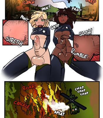 Futa Firefighters 3 – Futa Inferno comic porn sex 007