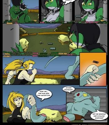 The Legend Of Jenny And Renamon 3 Sex Comic sex 029