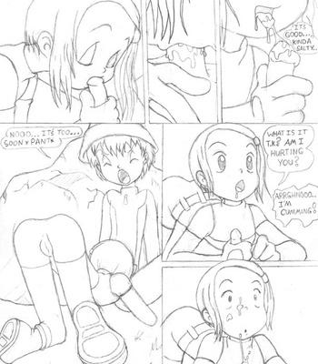 Digimon – Digivolve Fuck comic porn sex 004