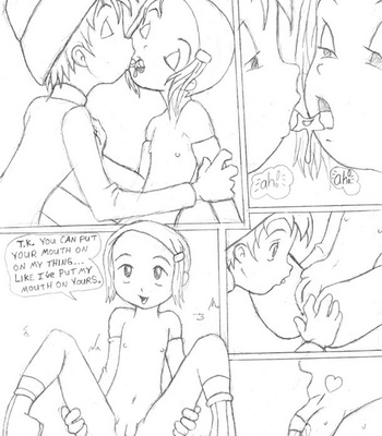 Digimon – Digivolve Fuck comic porn sex 009