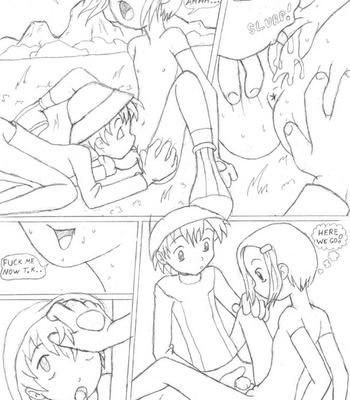 Digimon – Digivolve Fuck comic porn sex 010
