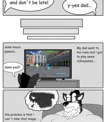 Playing With Daddy comic porn sex 009