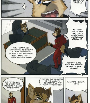 The Bellhop And His Special Guest Sex Comic sex 004