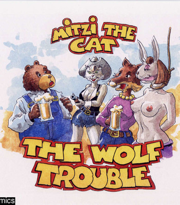 Porn Comics - Mitzi The Cat – The Wolf Trouble