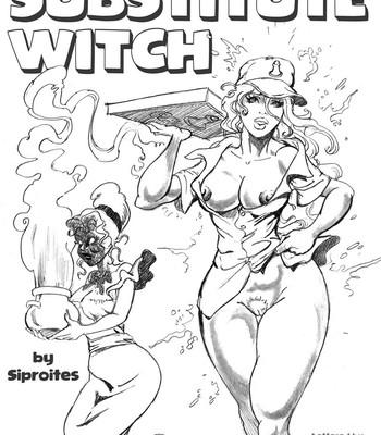 Porn Comics - Substitute Witch