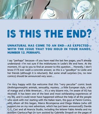 Unnatural 12 comic porn sex 068