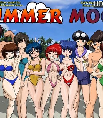 Porn Comics - Summer Moon Sex Comic