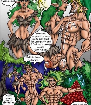 The Legend Of Zelda – Cockarina Of Time 1 comic porn sex 003
