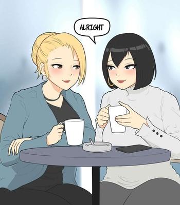 Porn Comics - Long Time Friends – Iris And Morgan