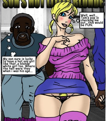 Porn Comics - Son's Hot Litlle Blonde