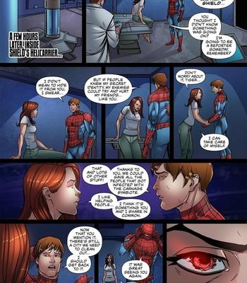 Symbiote Queen 3 comic porn sex 003