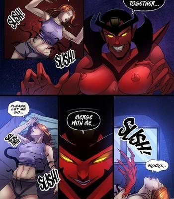 Symbiote Queen 3 comic porn sex 006