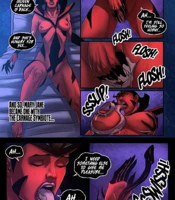 Symbiote Queen 3 comic porn sex 012
