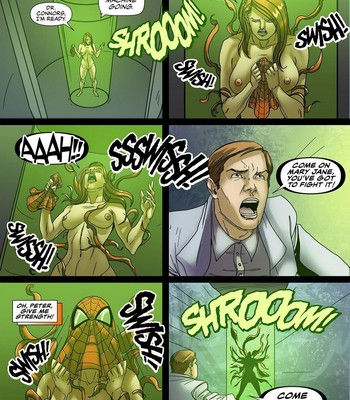 Symbiote Queen 3 comic porn sex 016