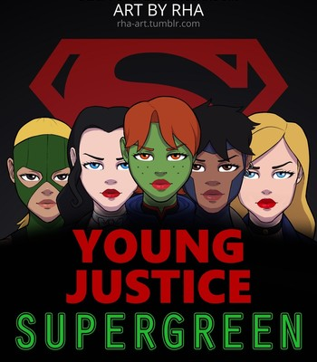 Porn Comics - Young Justice – Supergreen Sex Comic
